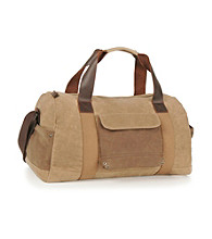 "Levi's® River Rock 22"" Tan Duffle Bag"