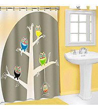 PB Home™ 3D Owl PEVA Shower Curtain