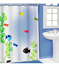 PB Home™ 3D Fish Bowl PEVA Shower Curtain