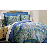 Tangiers Blue Comforter Set by Scent-Sation Inc.