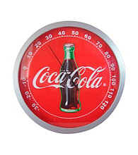 Coca-Cola® Coke Contour Bottle Round Thermometer