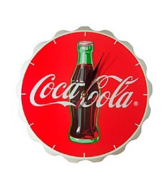 Coca-Cola® Coke Contour Bottle Crown Clock