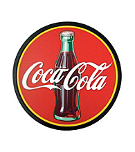 Coca-Cola® Coke Wood Script Round Sign