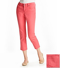 DKNY JEANS® Colored Skinny Cropped Jeans