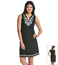Chelsea & Theodore® Embroidered Short Dress