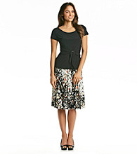 Perceptions Printed Skirt and Top Set