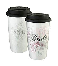 Lillian Rose® 12-oz. Bride Ceramic Tumbler