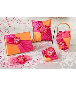 Lillian Rose® Hot Pink and Orange Basket