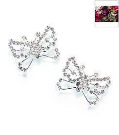 Lillian Rose® Set of 2 Butterfly Flower Picks