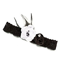 Lillian Rose® Black Vintage Garter