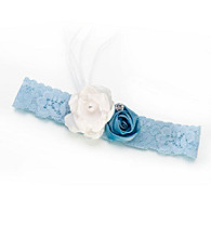 Lillian Rose® Blue Vintage Garter