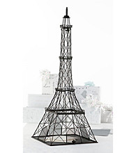 Lillian Rose® Metal Eiffel Tower Cardbox