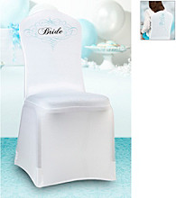 Lillian Rose® Bride Chair Cover - White