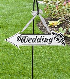 Lillian Rose® Wedding Arrow Sign