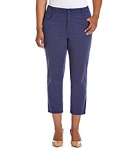 Jones New York Signature® Plus Size Chelsea Cuffed Capri