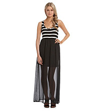 Eyeshadow® Juniors' Knit Maxi Dress