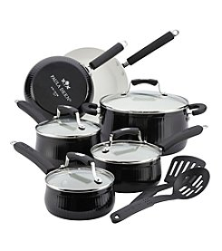 Paula Deen® Savannah 12-pc. Black Cookware Set