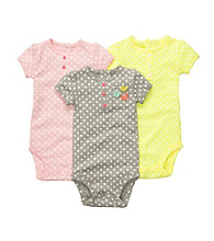 Carter's® Baby Girls' Assorted 3-pk. Short Sleeve Bodysuits