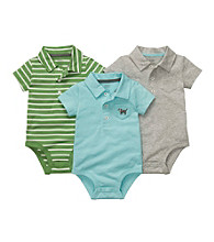 Carter's® Baby Boys' Assorted 3-pk. Short Sleeve Polo Bodysuits