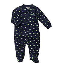 Carter's® Baby Boys' Navy Turtle Print Footie