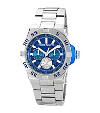 Vince Camuto™ Men's Blue Silvertone Bracelet Watch