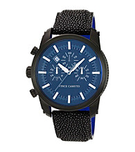 Vince Camuto™ Men's Black Stingray Strap Watch