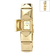Vince Camuto™ Women's Goldtone Covered Bracelet Watch