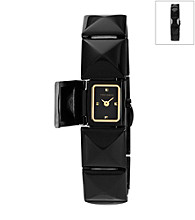 Vince Camuto™ Women's Black Covered Bracelet Watch