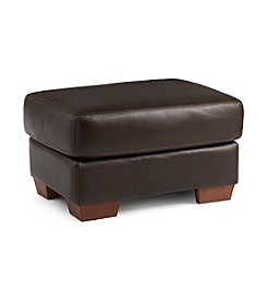 Chateau d'Ax Salerno Leather Ottoman