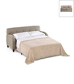 HM Richards Triumpe Comedy Flannel Apartment Sofa Sleeper