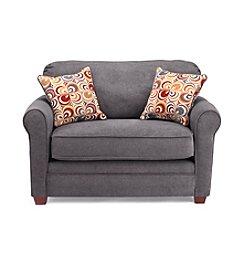 Lane® Sunburst Granite Twin Sleeper Sofa with iRest Gel-Infused Foam Mattress