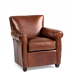 McCreary Linato Cashew Leather Chair