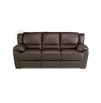 Natuzzi Editions Genoa Brown Leather Living Room Collection