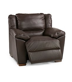 Natuzzi Editions® Genoa Brown Leather Recliner