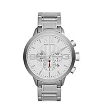 A|X Armani Exchange Men's Stainless Steel Round Chronograph Watch