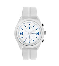 Unlisted by Kenneth Cole® Men's White Watch with White Strap