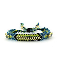 Vince Camuto® Blue Multi and Crystal Friendship Bracelet