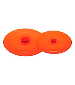 Rachael Ray® Tools & Gadgets Set of 2 Orange Suction Lids