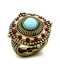Jill Zarin Morocco Collection Bold Multi Stone Ring