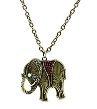 Jill Zarin Morocco Collection Elephant Motif Pendant