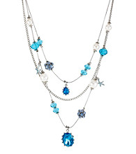 Betsey Johnson® Gem Illusion Necklace