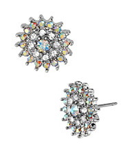 Betsey Johnson® Crystal Flower Stud Earrings