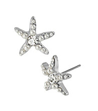 Betsey Johnson® Star Fish Stud Earrings