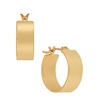 Kenneth Cole® Goldtone Small Hoop Earrings
