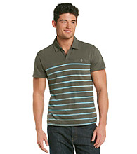 Calvin Klein Jeans® Men's Short Sleeve Striped Polo