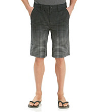 Calvin Klein Jeans® Men's Black Flat Front Gingham Short