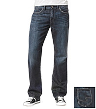 Silver® Silver Jeans Co. Men's Dark 'Garner' Relaxed Straight Fit Denim