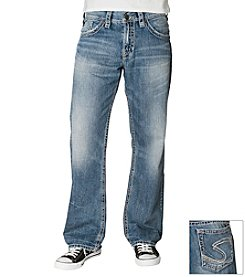 Silver Jeans Co. Men's Light Indigo 'Gordie' Loose Straight Fit Denim