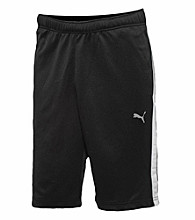 PUMA® Men's Black/White Form Striped Short