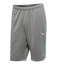 PUMA® Men's Grey/Malibu Blue Form Striped Short
